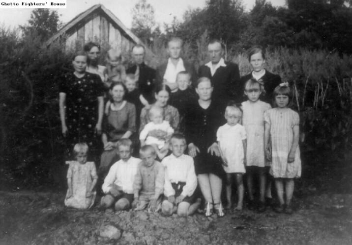 Kazimiero ir Salomėjos Kondelevskių šeima