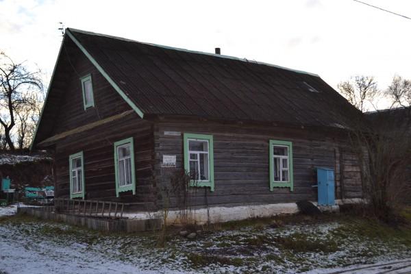 Drysviatuose (Baltarusija) išlikęs turmantiškio-drysviatiško žvejo Nochimo Kasimovo namas.