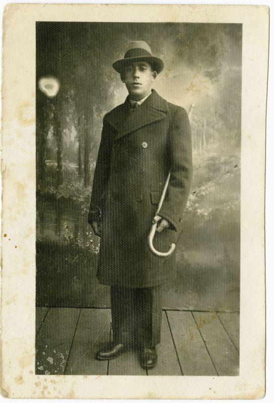Moisejus Botvinikas apie 1924 m.